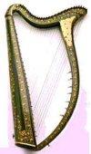 Symboles et emblèmes des pays celtes Harp